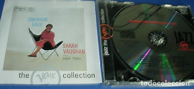CD SARAH VAUGHAN AND HER TRIO (Música - CD's Jazz, Blues, Soul y Gospel)