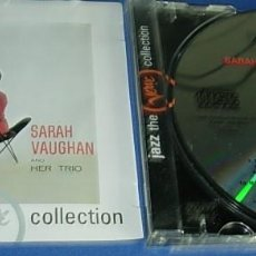 CDs de Música: CD SARAH VAUGHAN AND HER TRIO. Lote 147740726