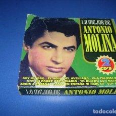 CDs de Música: ESTUCHE DOBLE (2 CDS) LO MEJOR DE ANTONIO MOLINA. Lote 147741546