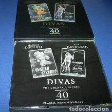 CDs de Música: 2 CD- DIVAS THE GOLD COLLECTION, MARLENE DIETRICH Y RITA HAYWORTH. Lote 147741982