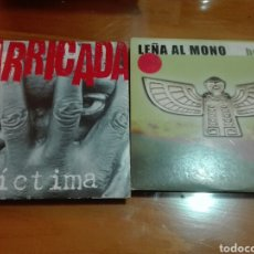 CDs de Música: LOTE 2 CD BARRICADA,LEÑA AL MONO. Lote 147755557
