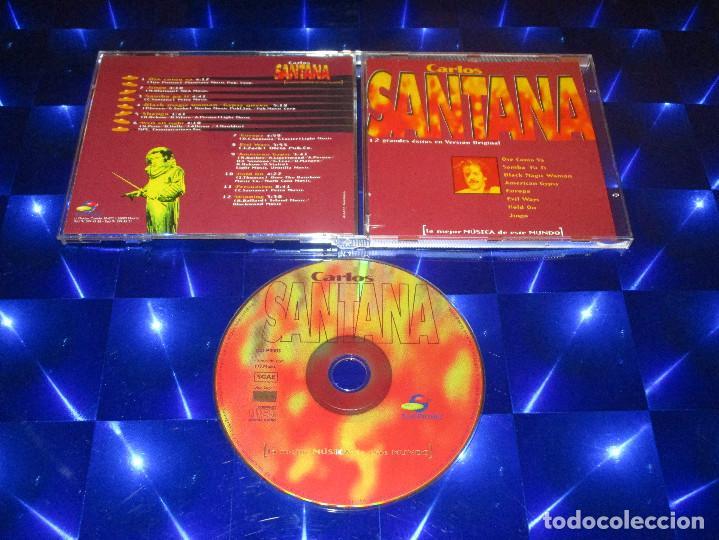CARLOS SANTANA ( 12 GRANDES EXITOS EN VERSION ORIGINAL ) - CD - EUROPA - PERSUASION ... (Música - CD's Latina)