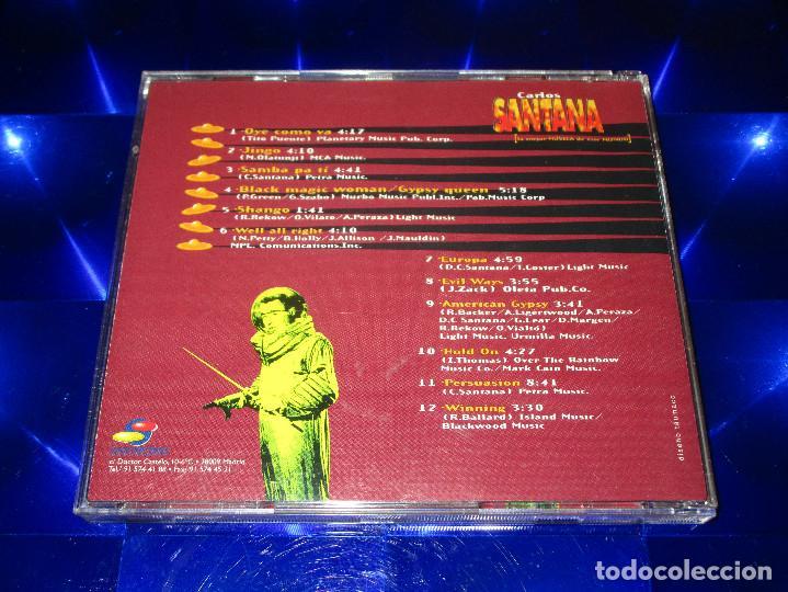 CDs de Música: CARLOS SANTANA ( 12 GRANDES EXITOS EN VERSION ORIGINAL ) - CD - EUROPA - PERSUASION ... - Foto 3 - 147760210