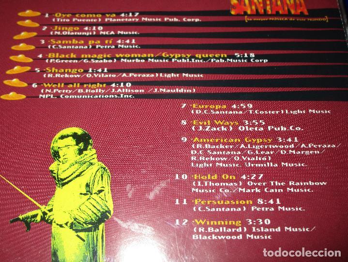 CDs de Música: CARLOS SANTANA ( 12 GRANDES EXITOS EN VERSION ORIGINAL ) - CD - EUROPA - PERSUASION ... - Foto 4 - 147760210