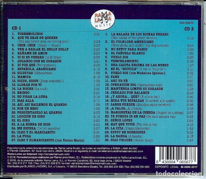 CDs de Música: DOBLE CD LOS 4 DE LA TORRE - MAMITA - ESTOY DE RODRIGUEZ - SILUETAS - VUELO 502 - SEÑOR LOPEZ - - Foto 2 - 147761922