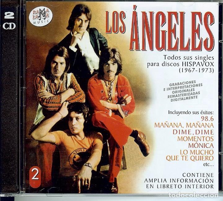 DOBLE CD LOS ANGELES - MAÑANA, MAÑANA - 98.6 - MONICA - TE QUIERO MUCHO - MOMENTOS - ABRE TU VENTANA (Música - CD's Melódica )