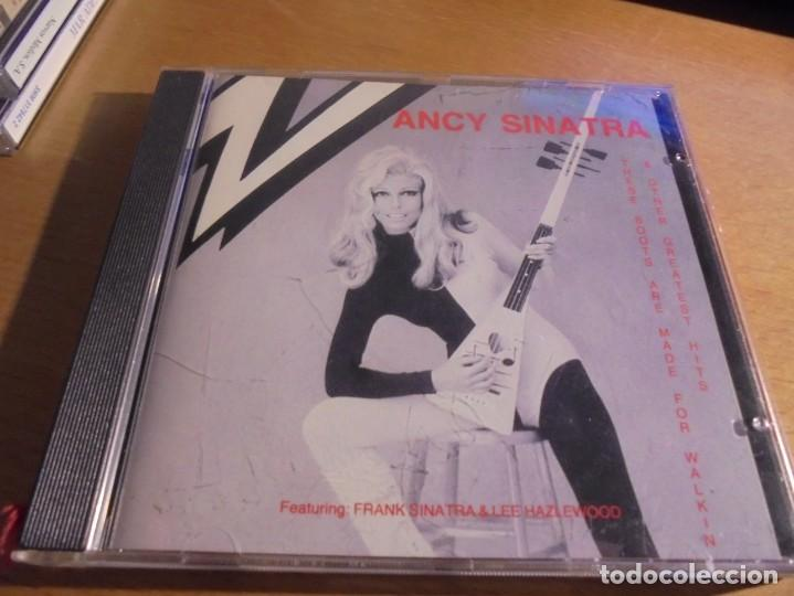 RAR CD. NANCY SINATRA. THESE BOOTS ARE MADE FOR WALKIN & OTHER HITS. PROMO (Música - CD's Melódica )