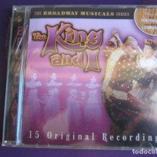 CDs de Música: YUL BRINNER GERTRUDE LAWRENCE CD 2002 - THE KING AND I - BROADWAY MUSICAL - CINE TEATRO PRECINTADO. Lote 147783326