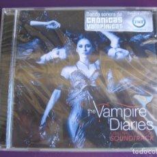 CDs de Música: VAMPIRE DIARIES CD PRECINTADO 2010 BSO TV TELEVISION - PLACEBO - GORILLAZ - GOLDFRAPP - PLUMB ETC. Lote 147784094