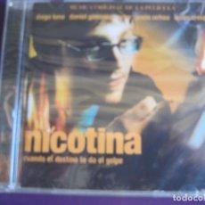CDs de Música: NICOTINA (CUANDO EL DESTINO TE DA EL GOLPE) CD 2003 - ATERCIOPELADOS - BENY MORE - CESAR COSTA ETC... Lote 147784422
