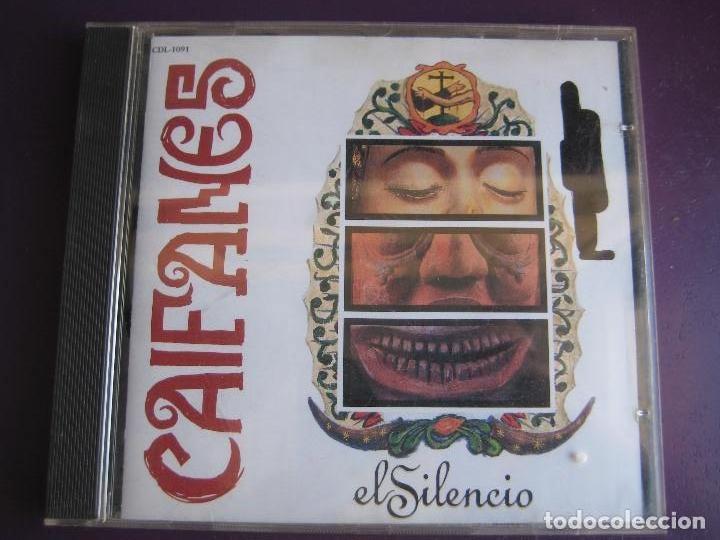 CAIFANES CD RCA MEXICO 1992 - EL SILENCIO - SIN USO - (Música - CD's Rock)
