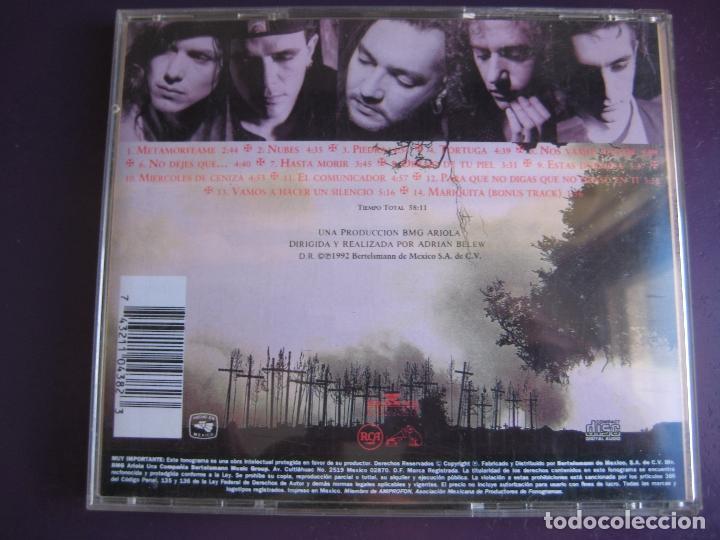 CDs de Música: CAIFANES CD RCA MEXICO 1992 - EL SILENCIO - SIN USO - - Foto 2 - 147784758