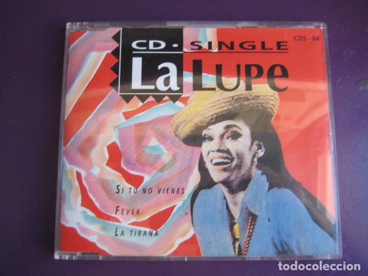 LA LUPE CD MAXI SINGLE MANZANA 1993 - SI TU NO VIENES - FEVER - LA TIRANA - BOOGALOO - BOLERO (Música - CD's Latina)