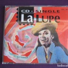 CDs de Música: LA LUPE CD MAXI SINGLE MANZANA 1993 - SI TU NO VIENES - FEVER - LA TIRANA - BOOGALOO - BOLERO. Lote 147784934