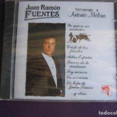 CDs de Música: JUAN RAMON FUENTES CD COCK PRECINTADO 1991 - HOMENAJE A ANTONIO MOLINA - COPLA CANCION ESPAÑOLA. Lote 147785210