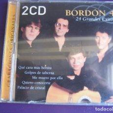 CDs de Música: BORDON 4 DOBLE CD 24 GRANDES EXITOS - 2001 - RUMBAS POP SEVILLANAS RUMBA GITANA. Lote 147785374