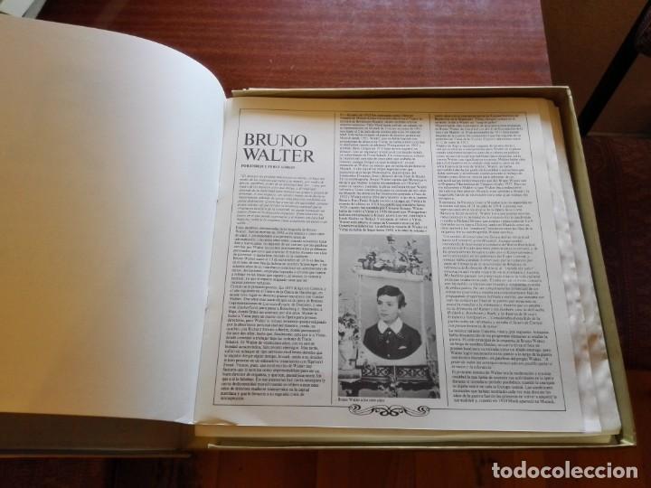 CDs de Música: Album estuche con 9 LPs de BRUNO WALTER y obras de MAHLER. - Foto 2 - 147786698