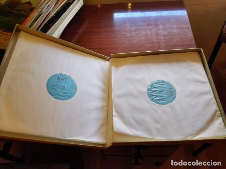 CDs de Música: Album estuche con 9 LPs de BRUNO WALTER y obras de MAHLER. - Foto 4 - 147786698