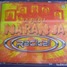 CDs de Música - Radical - La Fiesta Naranja 3 CDS BIT MUSIC 2001 - ELECTRONICA TRANCE HARD HOUSE - 54 TEMAS - 147796834