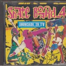 CDs de Música: SKATE BOARD 4 CD 1992 16 TEMAS SKATEBOARD. Lote 147885106