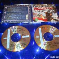 CDs de Música: SUNSET EL SONIDO DE CALIFORNIA - 2 CD - BANGLES - SANTANA - LIZA MINNELLI - M.C. HAMMER .... Lote 147887738