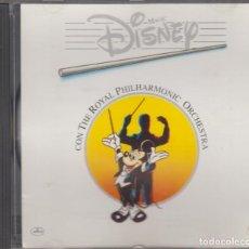 CDs de Música: MAGIC DISNEY CD CON THE ROYAL PHILHARMONIC ORCHESTRA 1994. Lote 295932608