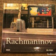 CDs de Música: CONCIERTOS PARA PIANO - RACHMANINOV - LIBRETO CON CD - 4 FOTOS. Lote 147890258