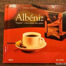CDs de Música: ESPAÑA Y OTRAS PIEZAS PARA PIANO - ALBENIZ - LIBRETO CON CD - 4 FOTOS. Lote 147890426
