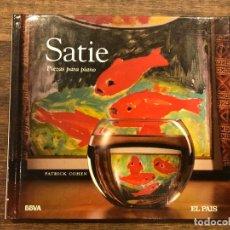 CDs de Música: PIEZAS PARA PIANO - SATIE - LIBRETO CON CD - 4 FOTOS. Lote 147890678