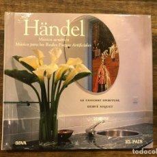 CDs de Música: MUSICA ACUATICA/ MUSICA PARA LOS REALES FUEGOS ARTIFICIALES - HANDEL - LIBRETO CON CD - 4 FOTOS. Lote 147890874