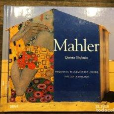 CDs de Música: QUINTA SINFONIA - MAHLER - LIBRETO CON CD - 4 FOTOS. Lote 147890982