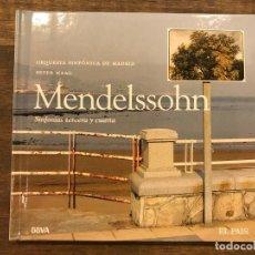 CDs de Música: SINFONIAS TERCERA Y CUARTA - MENDELSSOHN - LIBRETO CON CD - 4 FOTOS. Lote 147891130