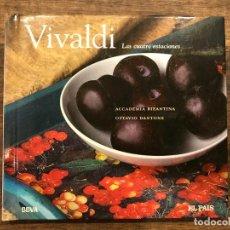 CDs de Música: LAS CUATRO ESTACIONES - VIVALDI - LIBRETO CON CD - 4 FOTOS. Lote 147891218