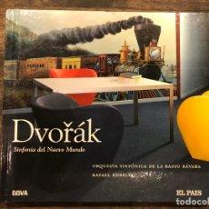 CDs de Música: SINFONIA DEL NUEVO MUNDO - DVORAK - LIBRETO CON CD - 4 FOTOS. Lote 147891502