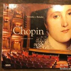 CDs de Música: ESTUDIOS Y BALADAS - CHOPIN - LIBRETO CON CD - 4 FOTOS. Lote 147891610