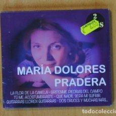CDs de Música: MARIA DOLORES PRADERA - MARIA DOLORES PRADERA - 2 CD. Lote 147911030