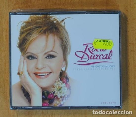 ROCIO DURCAL - ME GUSTAS MUCHO + DVD - 2 CD (Música - CD's Flamenco, Canción española y Cuplé)