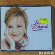 CDs de Música: ROCIO DURCAL - ME GUSTAS MUCHO + DVD - 2 CD. Lote 147911232