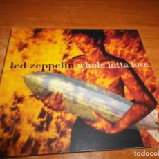 CDs de Música: LED ZEPPELIN WHOLE LOTTA LOVE CD SINGLE DIGIPACK DEL AÑO 1997 TIENE 3 TEMAS JIMMY PAGE ROBERT PLANT. Lote 147920758