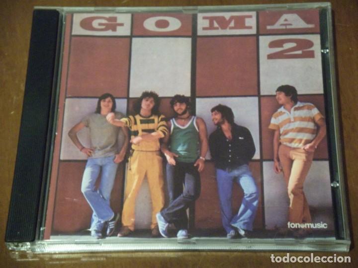 CD* - GOMA 2-GOMA 2- FONOMUSIC – CD-7088-1999-ROCK PROGRESIVO-GALIZIA- (Música - CD's Rock)