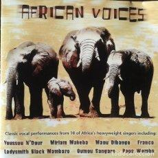 CDs de Música: AFRICAN VOICES (UK, 2000). Lote 147926470