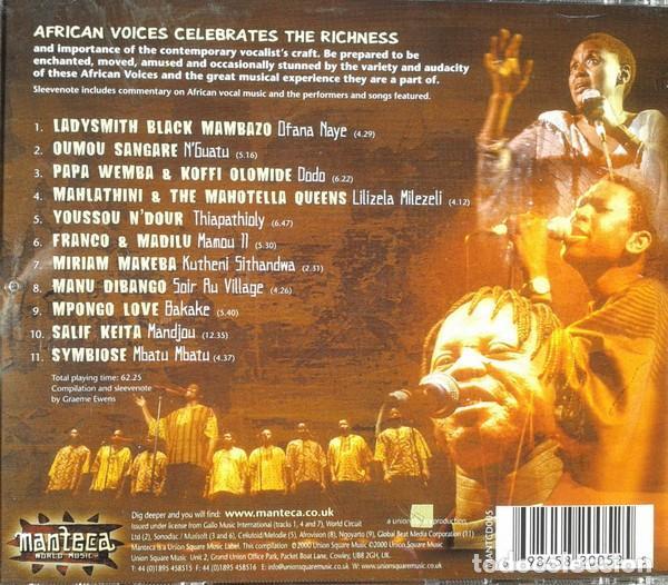 CDs de Música: African Voices (UK, 2000) - Foto 2 - 147926470