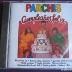 CDs de Música: PARCHIS CD DIVUCSA 1994 - CUMPLEAÑOS FELIZ + 9 EXITOS - PRECINTADO SIN ESTRENAR, TVE TELEVISION. Lote 147962622