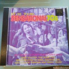 CDs de Música: VARIOUS – IT'S THE SENSATIONAL 70S . Lote 147963402