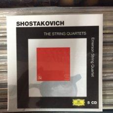 CDs de Música: THE STRING QUARTETS. SHOSTAKOVICH. (CD PRECINTADO). Lote 147972834