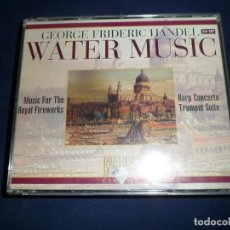 CDs de Música: HANDEL. WATER MUSIC. BRILLIANT ESTUCHE 2 CD´S. Lote 147978890