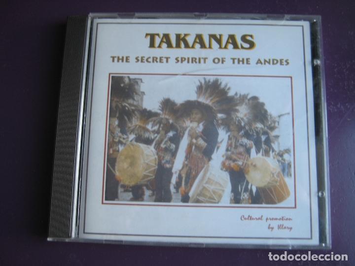 TAKANAS CD PIHUAYCHO'S 1999 - SECRET SPIRIT OF THE ANDES - FOLK CHILE PERU BOLIVIA - PAN PIPE - (Música - CD's World Music)
