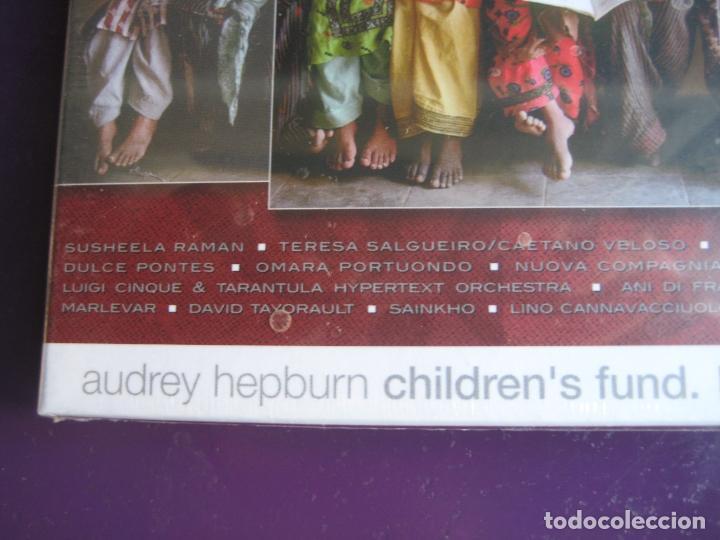 CDs de Música: ALL CHILDREN SCHOOL CD UNICEF - AUDREY HEPBURN - CAETANO VELOSO - PORTUONDO - DULCE PONTES 15 TEMAS - Foto 2 - 148000842