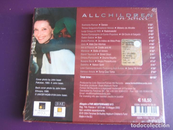 CDs de Música: ALL CHILDREN SCHOOL CD UNICEF - AUDREY HEPBURN - CAETANO VELOSO - PORTUONDO - DULCE PONTES 15 TEMAS - Foto 3 - 148000842