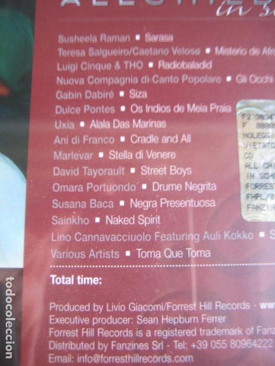CDs de Música: ALL CHILDREN SCHOOL CD UNICEF - AUDREY HEPBURN - CAETANO VELOSO - PORTUONDO - DULCE PONTES 15 TEMAS - Foto 5 - 148000842